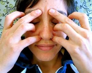 acupunctuurpunten gezicht